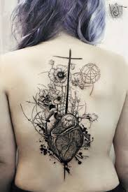 back piece tattoo design