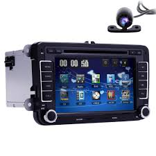volkswagen vw car stereo dvd gps navigation radio bluetooth 7