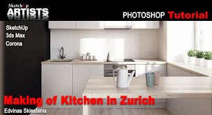 sketchup tutorial kitchen sketchup and 3ds max sketchup 3d rendering tutorials by
