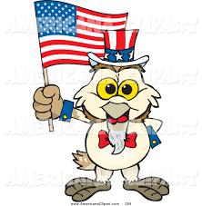 A Cartoon Barn Americana Vector Cartoon Clip Art Of A Patriotic White Uncle Sam