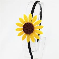 sunflower headband fashion sunflower headband lovely hairbands kids