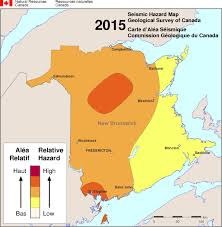 Map Of Canada Cities And Provinces by Simplified Seismic Hazard Map For Canada The Provinces And