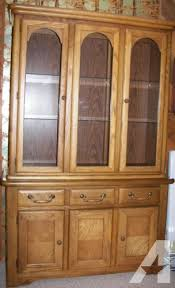 solid oak china cabinet for sale in gervais oregon classified