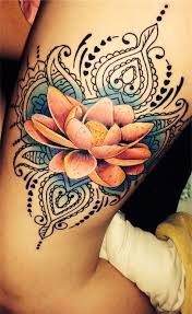 Flower Tattoos On - the 25 best flower tattoos ideas on