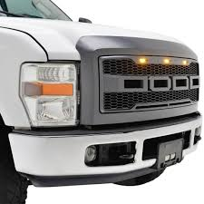 Ford Raptor Grill Lights - 08 10 ford f250 f350 raptor style packaged grille