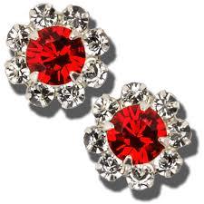 flirties earrings uw alumni store fan flirties baby daizie earrings white