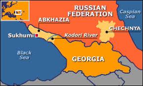 map of abkhazia news europe abkhazia on verge of war