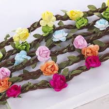 Wholesale Roses Wholesale Rose Flower Crown Headband Wedding Festival Hair Jewerly