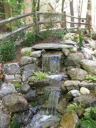 Diy Backyard Pond by Best 10 Waterfall Design Ideas On Pinterest Garden Waterfall