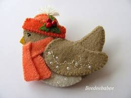 498 best felt ornaments images on