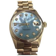 golden rolex gold yellow gold rolex watch vestiaire collective
