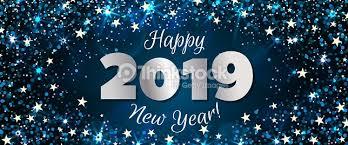 Happy New Year 2019 Banner Vector Art  Thinkstock