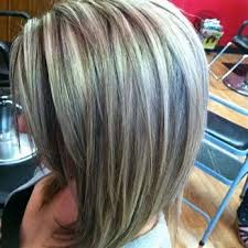 pictures of grey hair with lowlights image result for gray hair highlights and lowlights silver