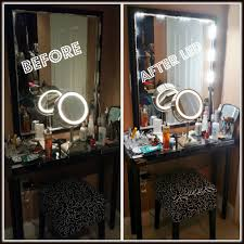makeup vanity with led lights fantastic led lights for makeup f21 in fabulous selection with led