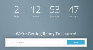 responsive html5 coming soon form countdown just uk freebies