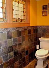 slate tile bathroom ideas 127 best craftsman bath images on bathroom ideas