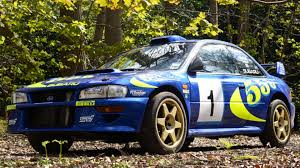 subaru sti rally car colin mcrae u0027s subaru impreza wrc test car sells for nearly 300k