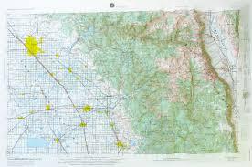 map of fresno raised relief map of fresno california usgs