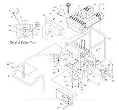 generac 4582 2 parts diagrams