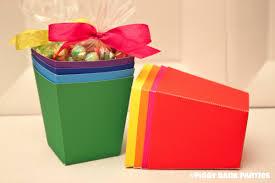 piggy bank party favors solid treat favor box diy printable piggy bank