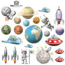 space kit stickers for kids space kit