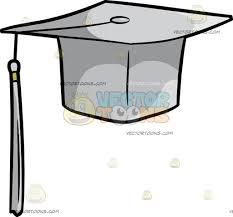 high school graduation caps a high school graduation cap clipart vector