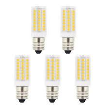 white light bulbs not yellow candelabra base light bulbs 5w 40w halogen equivalent warm white