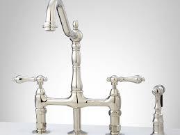 bridge style kitchen faucets best bridge style kitchen faucet
