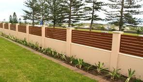 Garden Fence Ideas Design Front Fence Design Ideas Home Design Ideas Marcelwalker Us