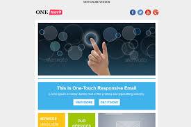 40 best responsive email newsletter templates flashuser