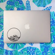 jeep beach decals ride the waves laptop stickers laptop decal macbook decal