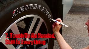 how to paint tire letters tire penz instructions how to apply