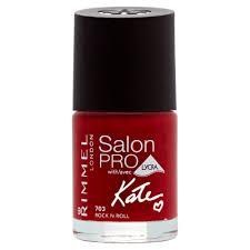 rimmel kate moss salon pro nail polish new romantic amazon co uk