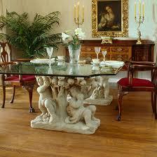 Kitchen Table Pedestals Cherub Table Planters Fine Cast Stone Urns Jardinieres