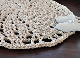 flower twist rug round rug rug handmade home decor