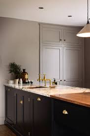 a beautiful shaker kitchen design by devol belgium blue find this pin and more on kitchen ideas