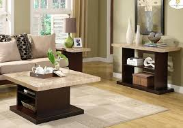 faux marble coffee table homelegance mooney 3 piece faux marble coffee table set w espresso