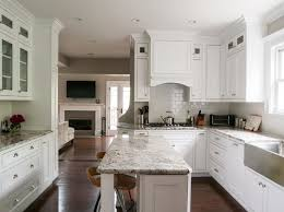 Narrow Kitchen Design With Island Narrow Kitchen Island Kitchen Traditional With Backless Barstool
