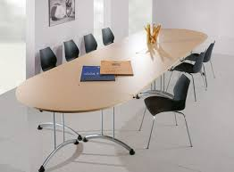 Modern Conference Table Design Modern Commercial Office Design With Sleek Folding Conference