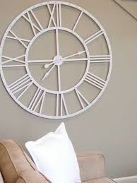 Giant Wall Clock White Wall Clock Full Image For Winsome Fun Wall Clock