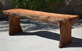tables made from logs bench andrianna shamaris single teak wood logench or coffee table