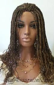 color 99j in marley hair fully braided senegalese twists lace front wig color 4 27 in