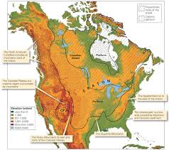 Ice Age Map North America by The Proterozoic The Earth In Transition Learning Geology