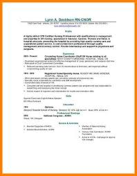 exles of nursing resume no experience nursing