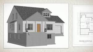 cottage building plans cottage house plans 267 autocad dwg blueprints youtube