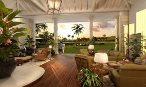 beautiful open plantation style living space in paradise http