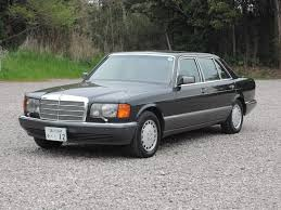 1991 mercedes benz 560sel in black with black leather and