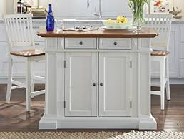 kitchen island with stool amazon com home styles 5002 948 kitchen island and stools white