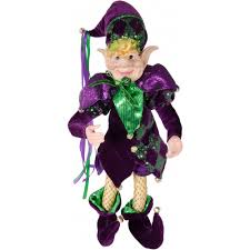 mardi gras jester costume 20 purple mardi gras jester doll 72418 mardigrasoutlet