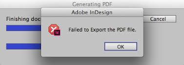 Error Encountered While Reading Jpeg Image Indesign